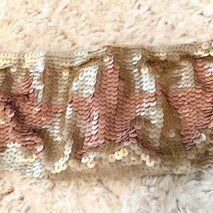 Freepeople NWOT Star sequin bandeau
